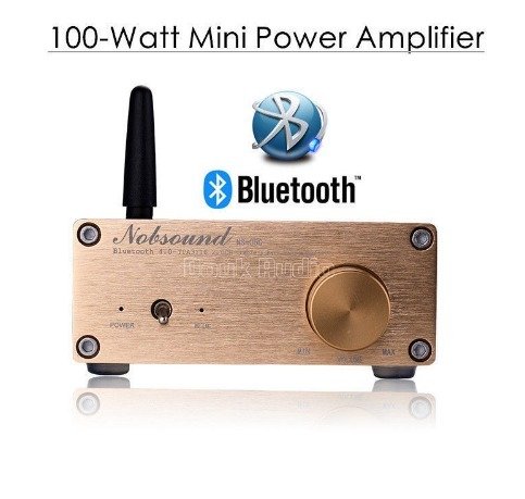 2018新Nobsound 100ワットのBluetooth 4.0ミニハイファイTPA3116パワーアンプデジタルオーディオステレオアンプ_画像1