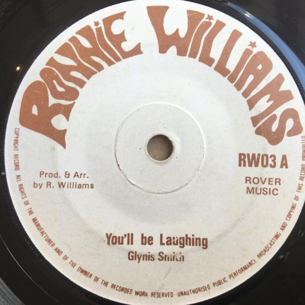 ★Glynis Smith/You'll Be Laughing★謎マイナーLOVERS ROCK 7!_画像1