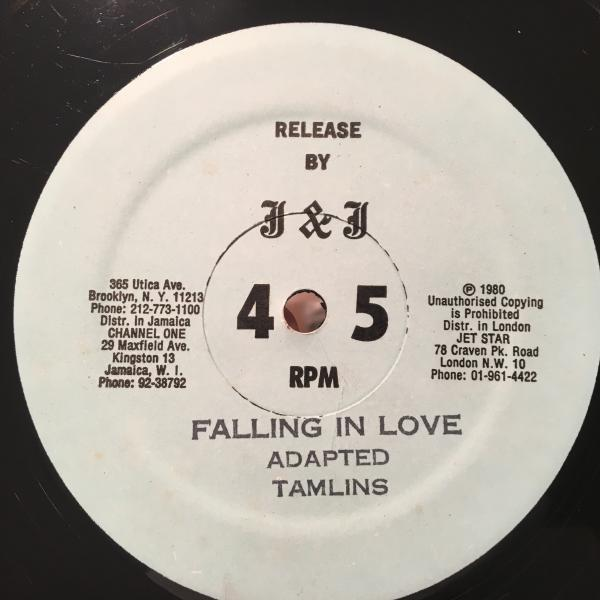 ★Tamlins/Falling In Love★名曲メロウカバー!_画像2