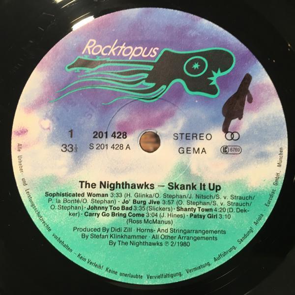 ★Nighthawks/Skank It Up★人気ネオスカ!_画像2