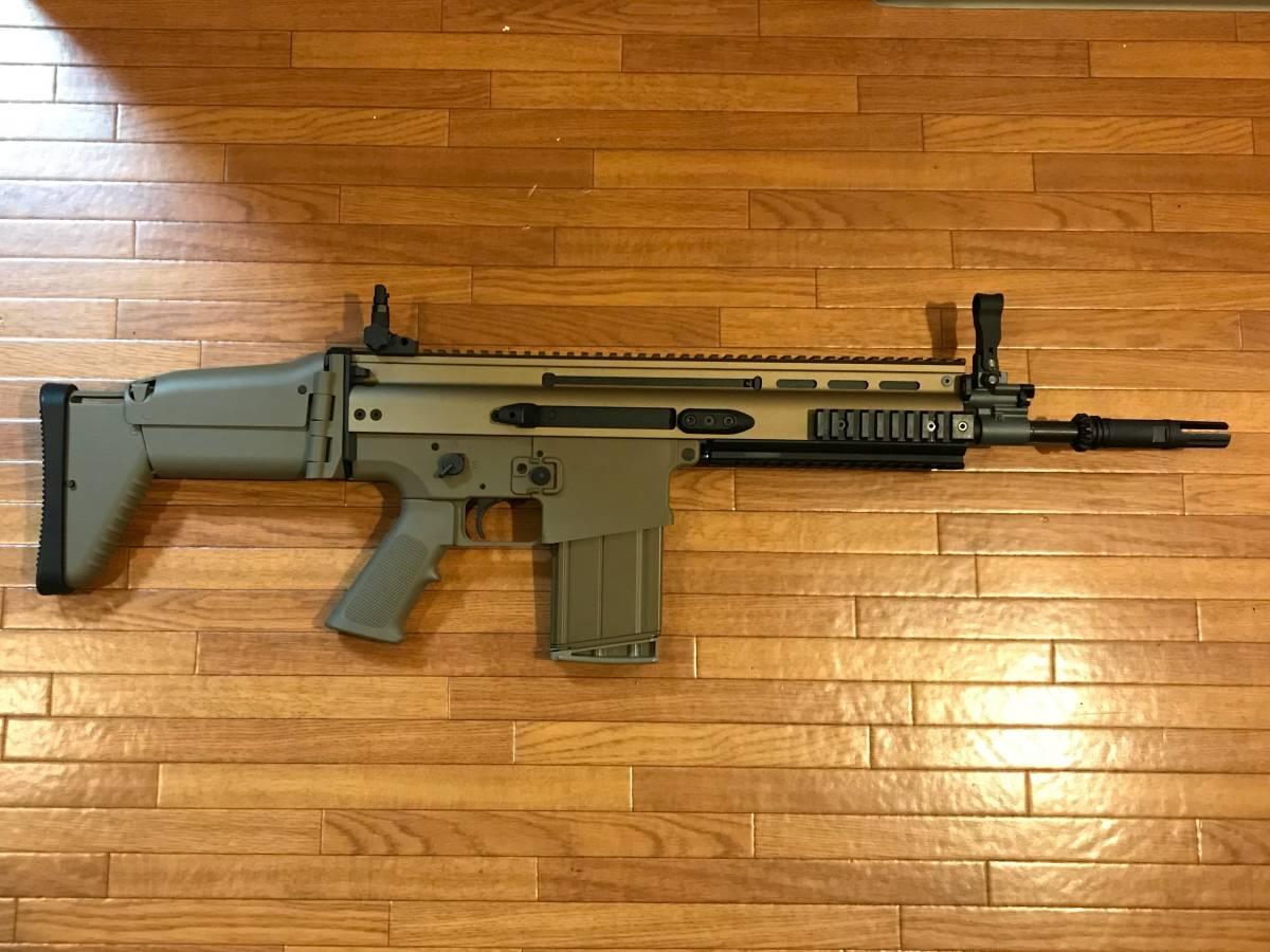 Cybergun/VFC FN SCAR-H GBB スチールパーツカスタム_画像2