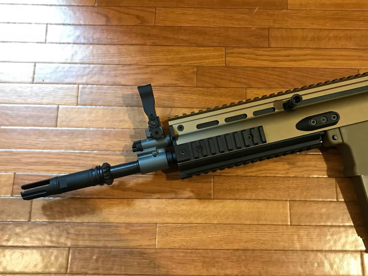 Cybergun/VFC FN SCAR-H GBB スチールパーツカスタム_画像5