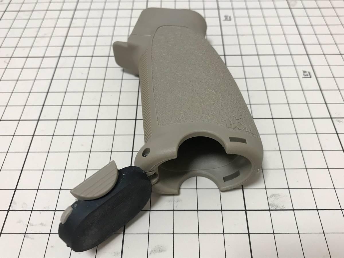【実物】BCM GUNFIGHTER Stock/Grip/Vertical Grip FDE 3点セット_画像6