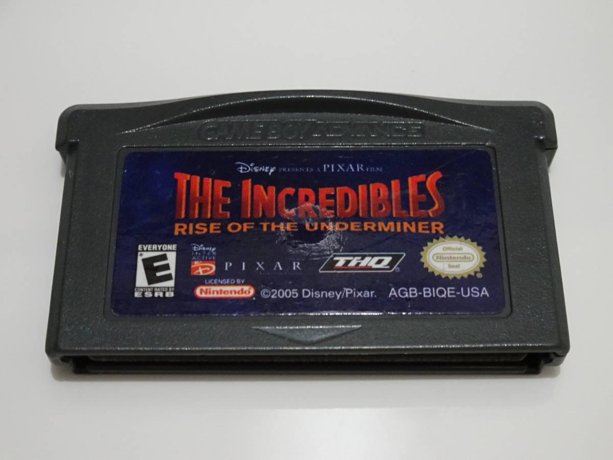 海外GAB The Incredibles - Rise of the Underminer Mr.インクレディブル2 端子清掃済 動作Ok 国内未発売