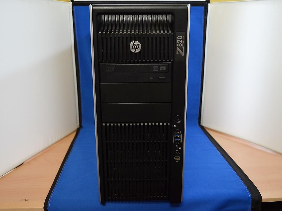【送料無料/ジャンク/パーツ】 hp Z820 WorkStation Xeon 2667 2.90GHz メモリー 16GB NVIDIA Quadro K2000 温度センサー不良_画像2
