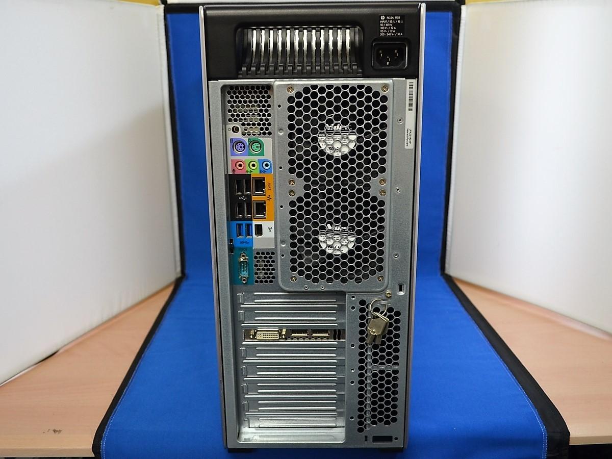 【送料無料/ジャンク/パーツ】 hp Z820 WorkStation Xeon 2667 2.90GHz メモリー 16GB NVIDIA Quadro K2000 温度センサー不良_画像3