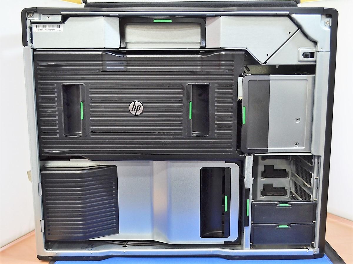 【送料無料/ジャンク/パーツ】 hp Z820 WorkStation Xeon 2667 2.90GHz メモリー 16GB NVIDIA Quadro K2000 温度センサー不良_画像6