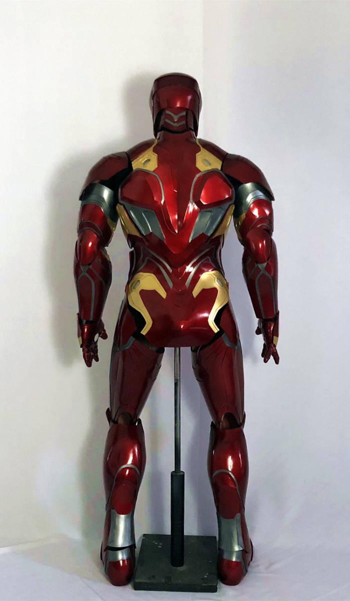 最新作  アイアンマン MK50 マスク コスプレ コスチューム 一式_画像2