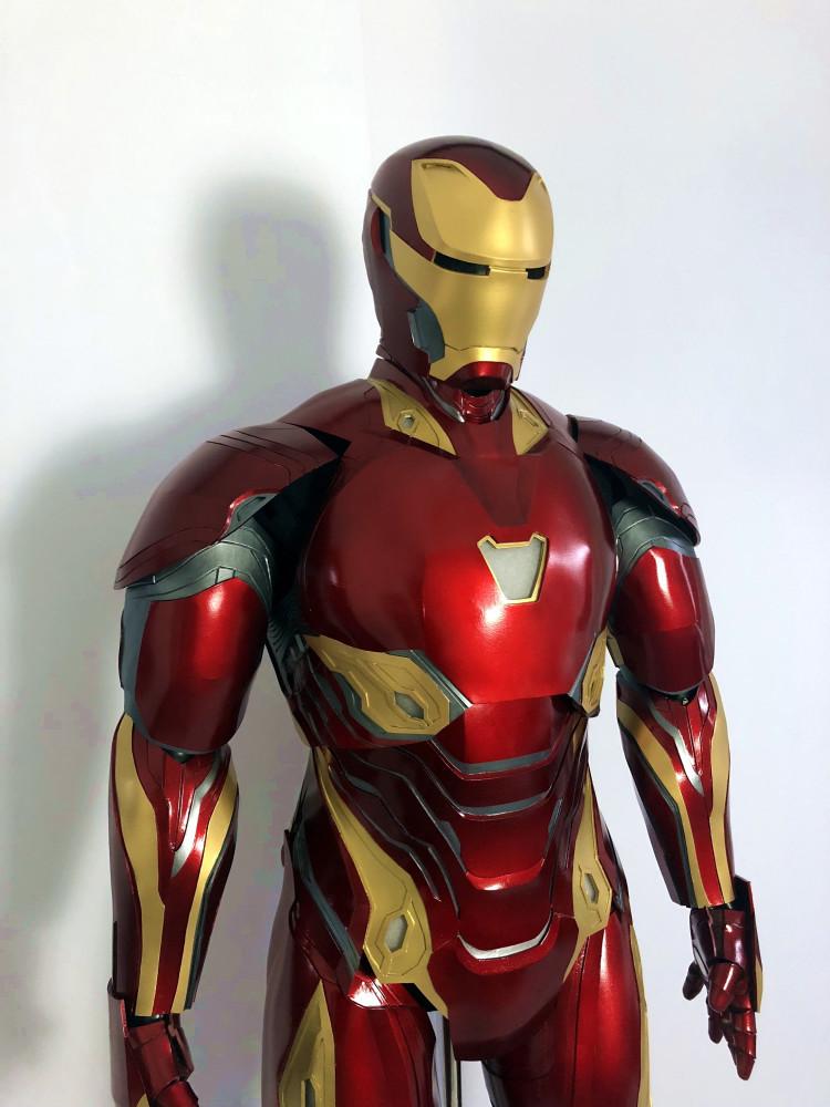 最新作  アイアンマン MK50 マスク コスプレ コスチューム 一式_画像3