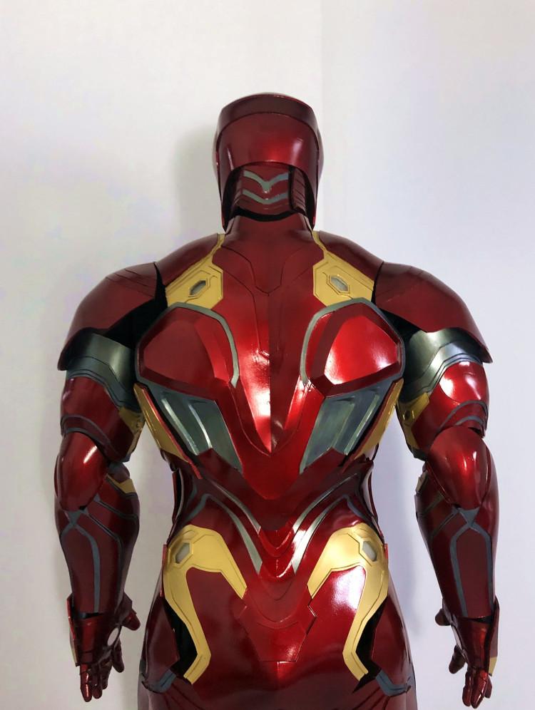 最新作  アイアンマン MK50 マスク コスプレ コスチューム 一式_画像4