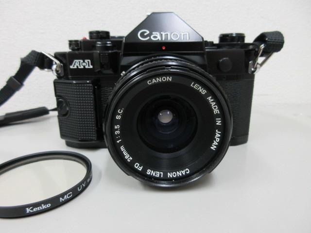 Canon A-1 (レンズ FD 28mm 1:3.5 SC) #23772