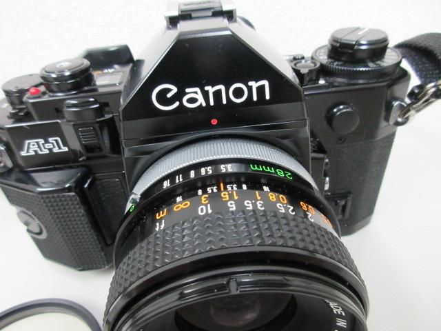 Canon A-1 (レンズ FD 28mm 1:3.5 SC) #23772_画像2