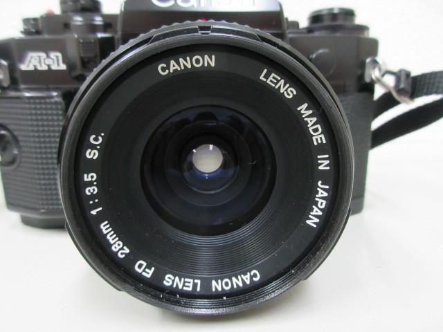 Canon A-1 (レンズ FD 28mm 1:3.5 SC) #23772_画像8