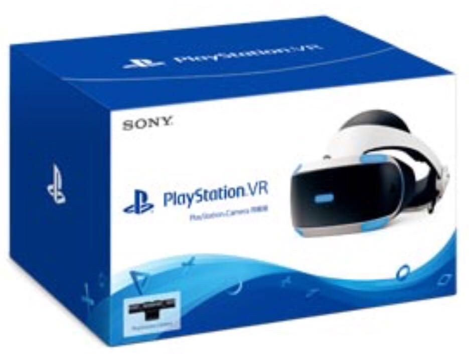 PlayStation(R)VR PlayStation(R)Camera同梱版CUHJ-16003 PSVR
