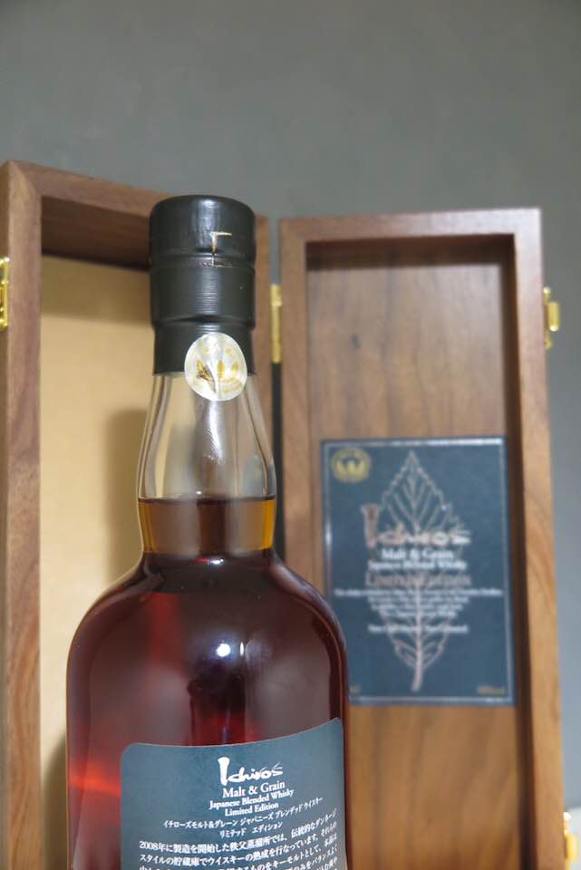 ★WWA2018 No.1【Limited Model】Ichiro's Malt&Grain Japanese Blended Whisky Limited Edition(検イチローズモルト 秩父 羽生 山崎 白州_画像3