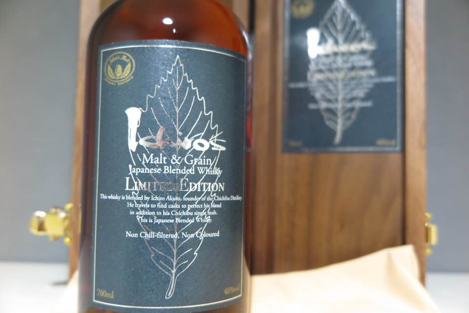 ★WWA2018 No.1【Limited Model】Ichiro's Malt&Grain Japanese Blended Whisky Limited Edition(検イチローズモルト 秩父 羽生 山崎 白州_画像4