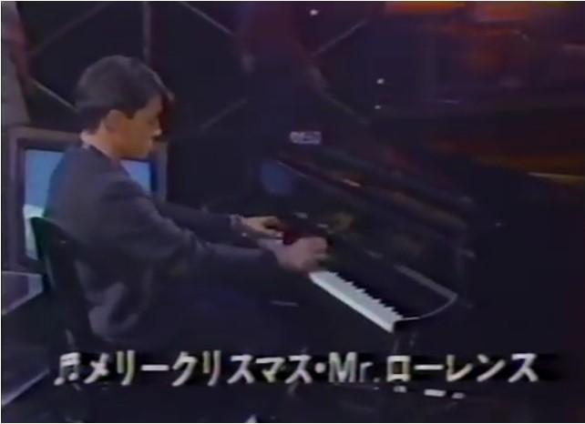 ★JAPAN TV SPECIAL 1983★1DVD!'83年放送『戦場のメリークリスマス』生中継特番収録!!ボウイ/大島渚/坂本龍一/ビートたけし出演!!_最後は教授のピアノ演奏で締め