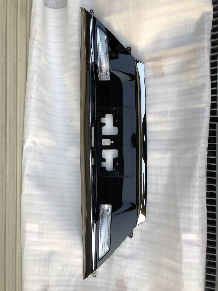TOYOTA トヨタ アルファード ヴェルファイア 20系 後期 リアガーニッシュ ガーニッシュ バックドア リアゲート ブラック 黒 美品