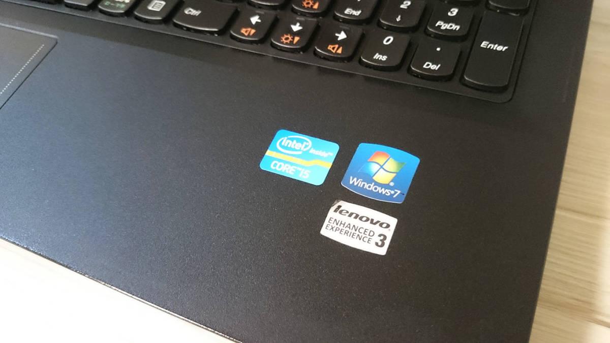 【最新Windows10☆超爆速SSD】Lenovo B590☆Core i5-3230M(第3世代Ivy Bridge)☆新品SSD320GB/メモリ4GB/Office/DVD/Webcam/USB3.0☆_画像7