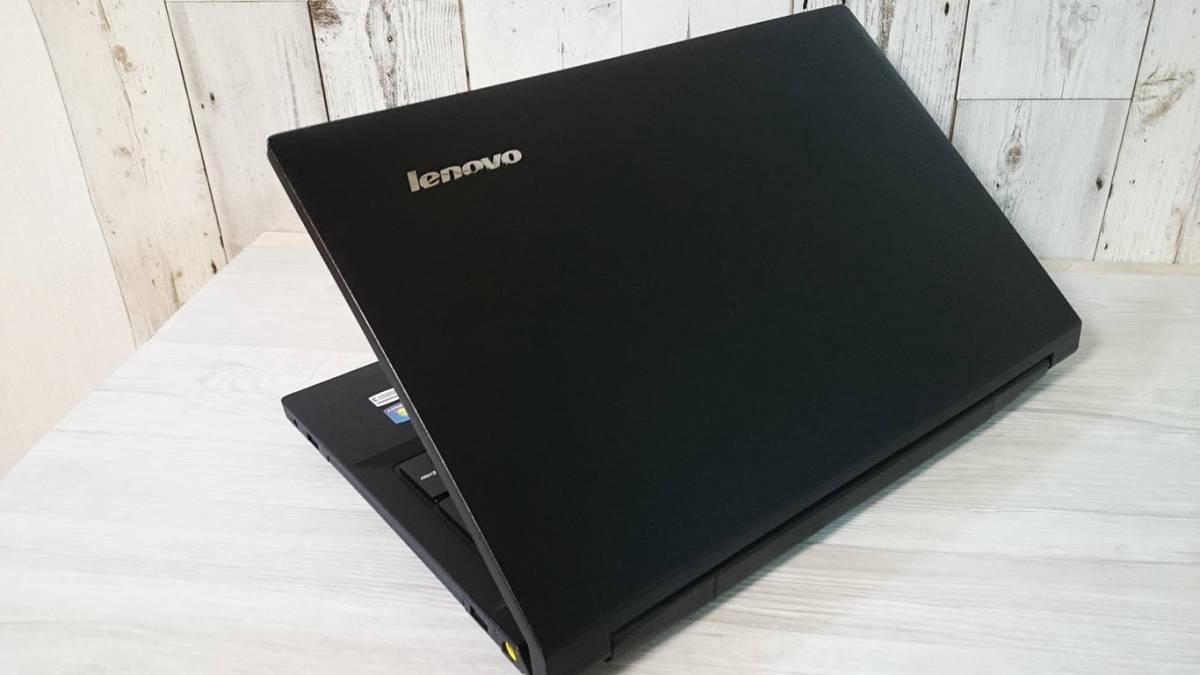 【最新Windows10☆超爆速SSD】Lenovo B590☆Core i5-3230M(第3世代Ivy Bridge)☆新品SSD320GB/メモリ4GB/Office/DVD/Webcam/USB3.0☆_画像3