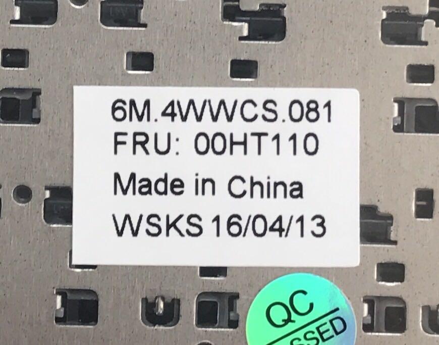 ▲新品 LENOVO ThinkPad X1 helix 00HT110 パームレスト+タッチパッド付き日本語キーボード 黒_画像3