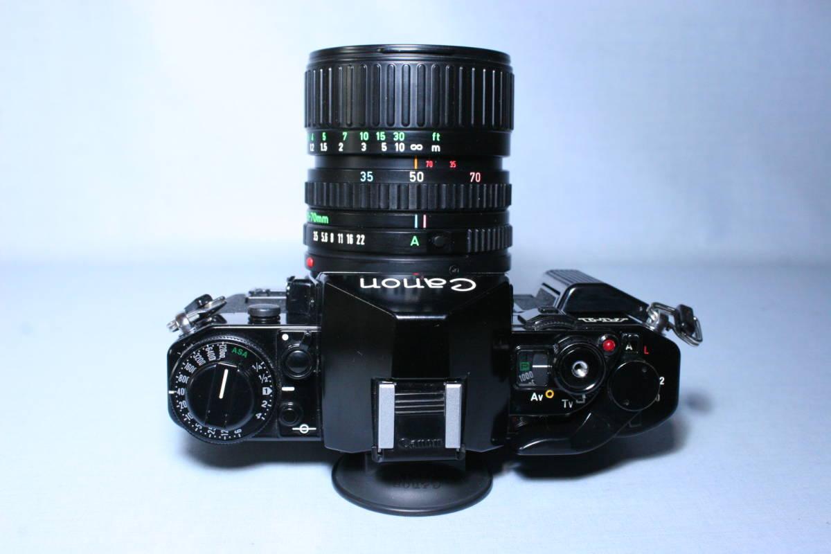 マニュアルキャノン/Canon A-1 N.FD 35-70mm 付_画像2