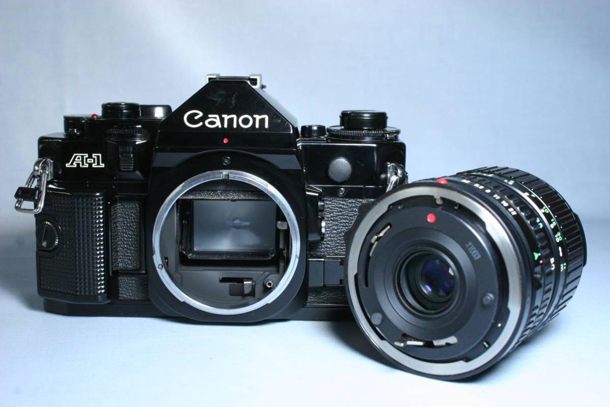 マニュアルキャノン/Canon A-1 N.FD 35-70mm 付_画像5