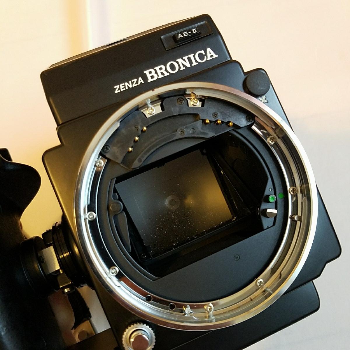 ブロニカ ZENZA BRONICA ETRS フィルムカメラ おまけ付き_画像8