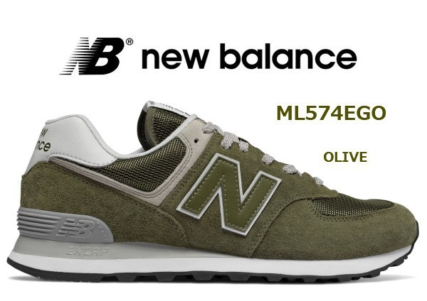 check out 2db9f 7fec1 NB ML574EGO OV 25.5cm D New balance life style OLIVE 25.5cm ...