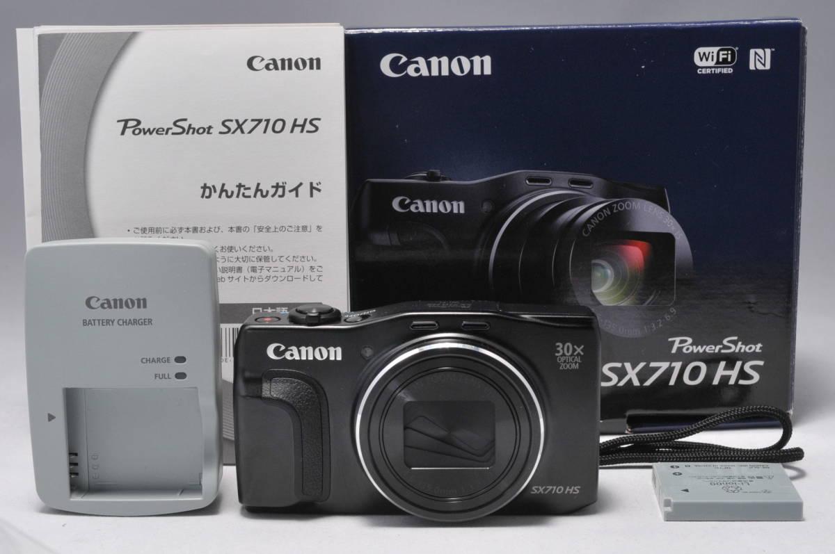 ◆ほぼ新品◆ キャノン キヤノン Canon PowerShot SX710 HS 2030万画素 光学30倍ズーム 6ヶ月の返金保証 #J29A16365