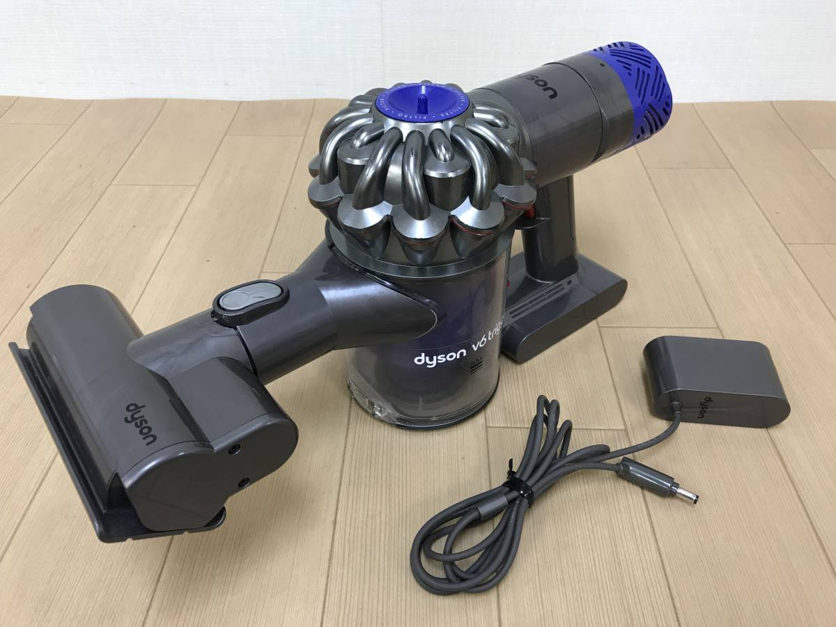 I41208【dyson ダイソン】v6 trigger コードレス掃除機 HH08◆現状品