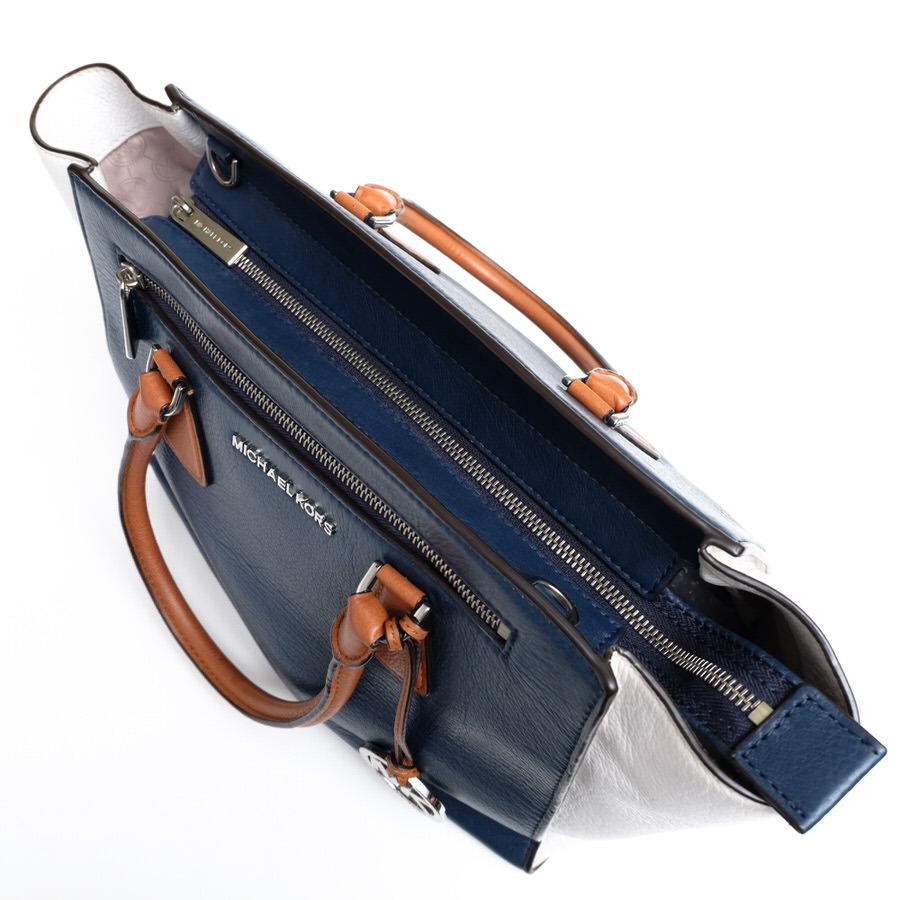 Michael Kors マイケルコース ハンドバッグ トートバッグ 鞄 MK 2WAY ショルダーバッグ ショルダーストラップ レディース レザーc1856_画像6