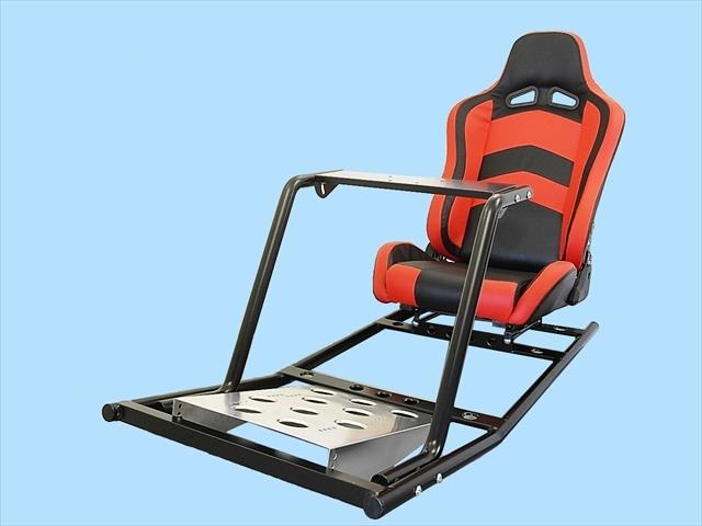 PS4 PS3 GTスポーツ ハンコン スタンド コックピットセット シート付 新品 国内生産品_画像1