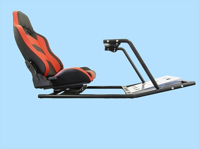 PS4 PS3 GTスポーツ ハンコン スタンド コックピットセット シート付 新品 国内生産品_画像3