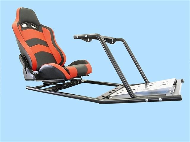 PS4 PS3 GTスポーツ ハンコン スタンド コックピットセット シート付 新品 国内生産品_画像4