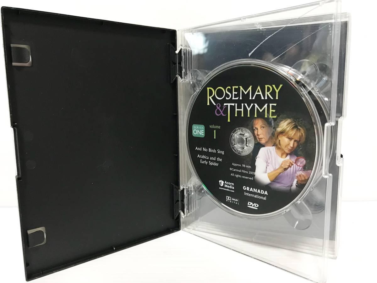 中古 Rosemary & Thyme Complete Series 海外ドラマ_画像2