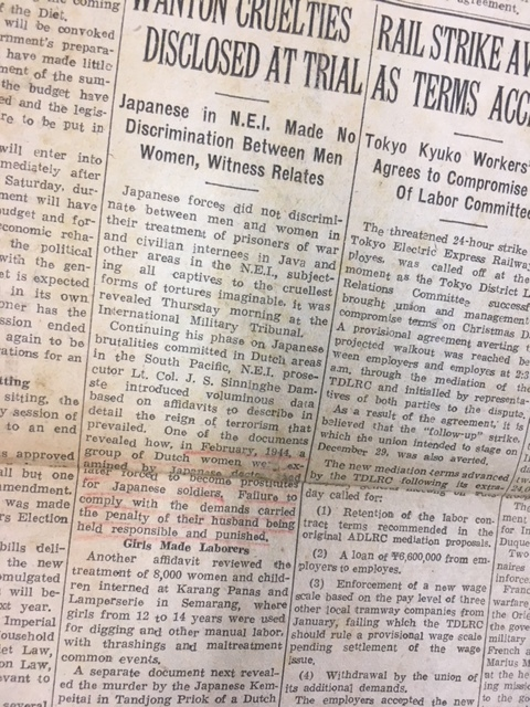 NIPPON TIMES 英字 新聞 1946年 ...