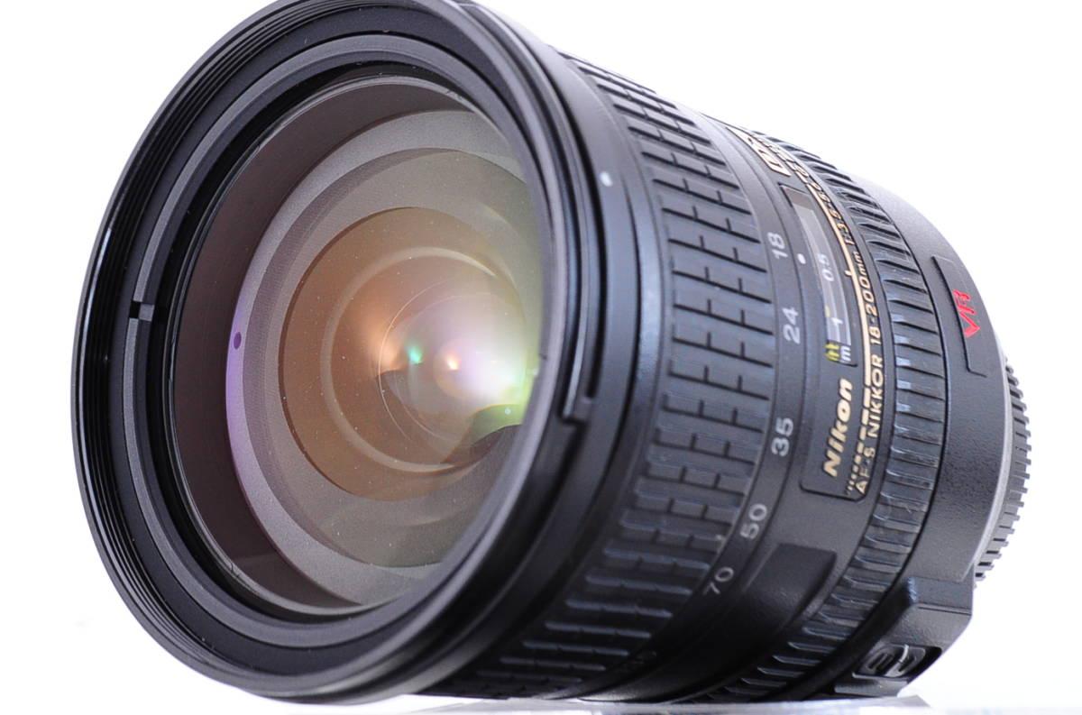 ★Nikonの定番レンズ・使い勝手の良いレンズです★Nikon ニコン AF-S NIKKOR 18-200mm F 3.5-5.6 G IF ED VR 即決の方送料無料!!