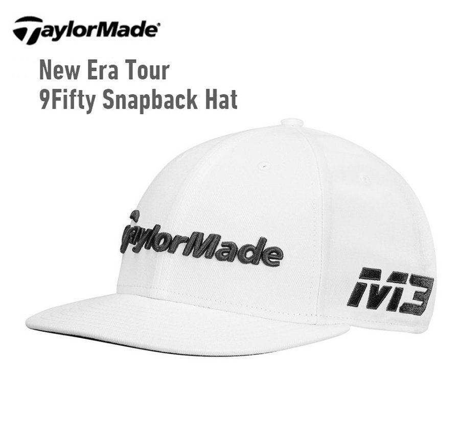 ff7b289736f TaylorMade ×NEW ERA 2018 TOUR 9FIFTY SNAPBACK HAT white new goods ...