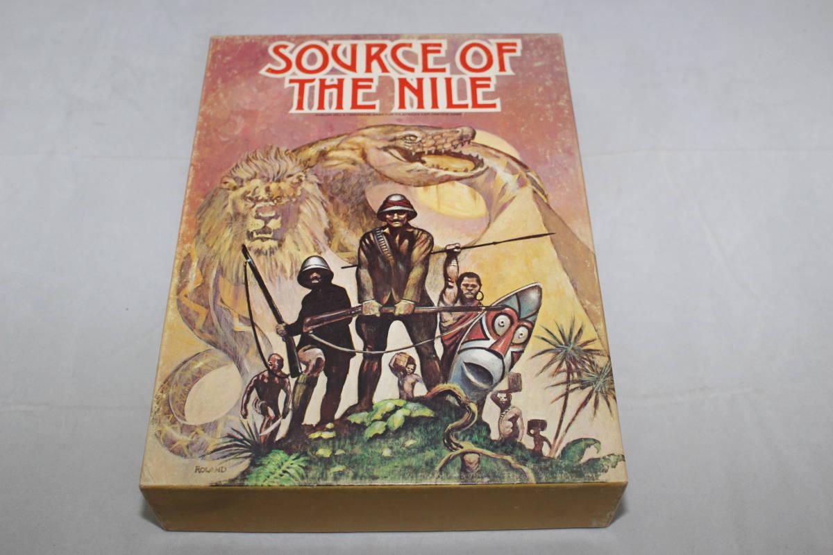 (AH)SOURCE OF THE NILE アフリカ探検、日本語訳付