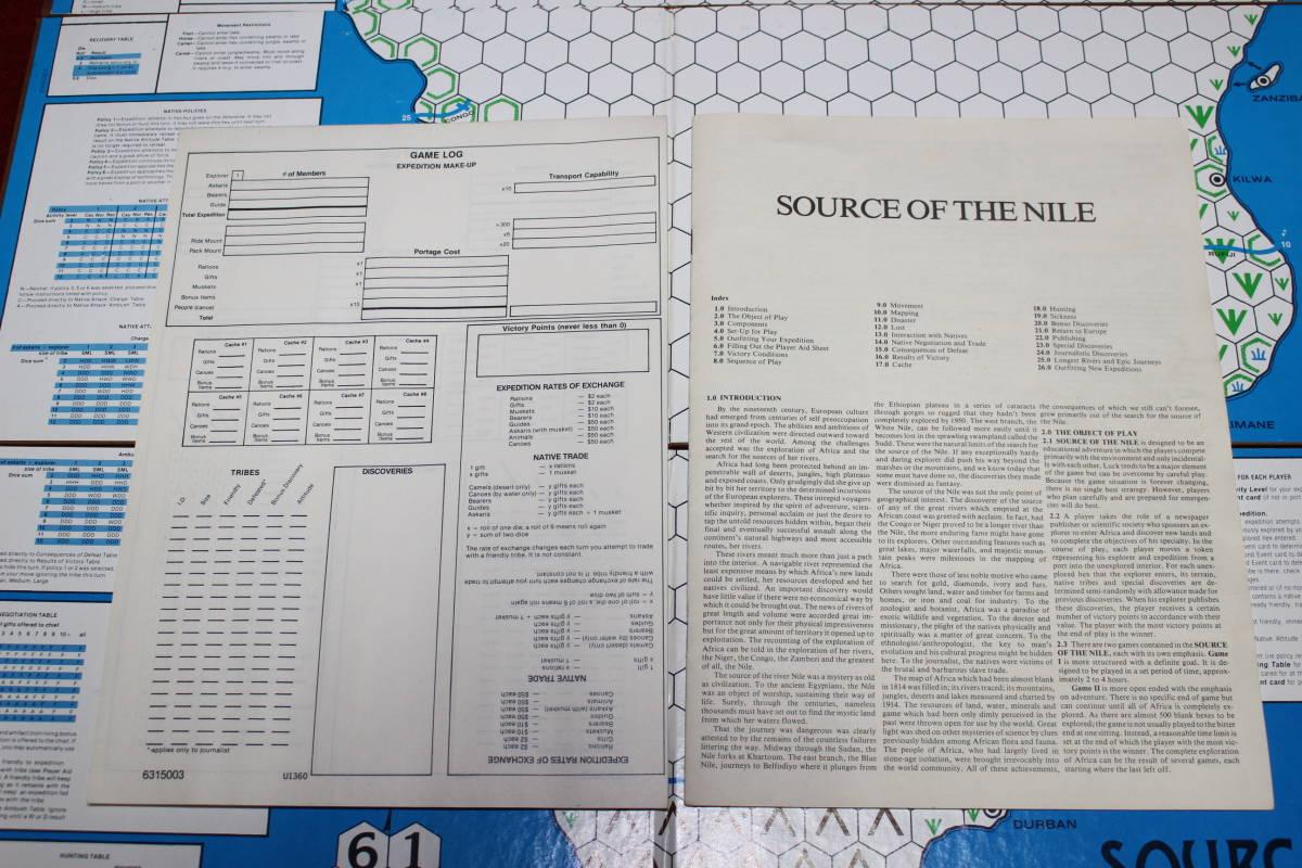 (AH)SOURCE OF THE NILE アフリカ探検、日本語訳付_画像7