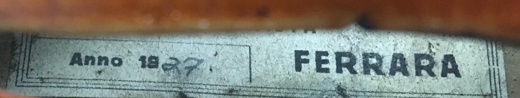 フェラーラの巨匠 美しい虎杢 裏板一枚板のモダンイタリアン 最落なしの最終出品!_画像6