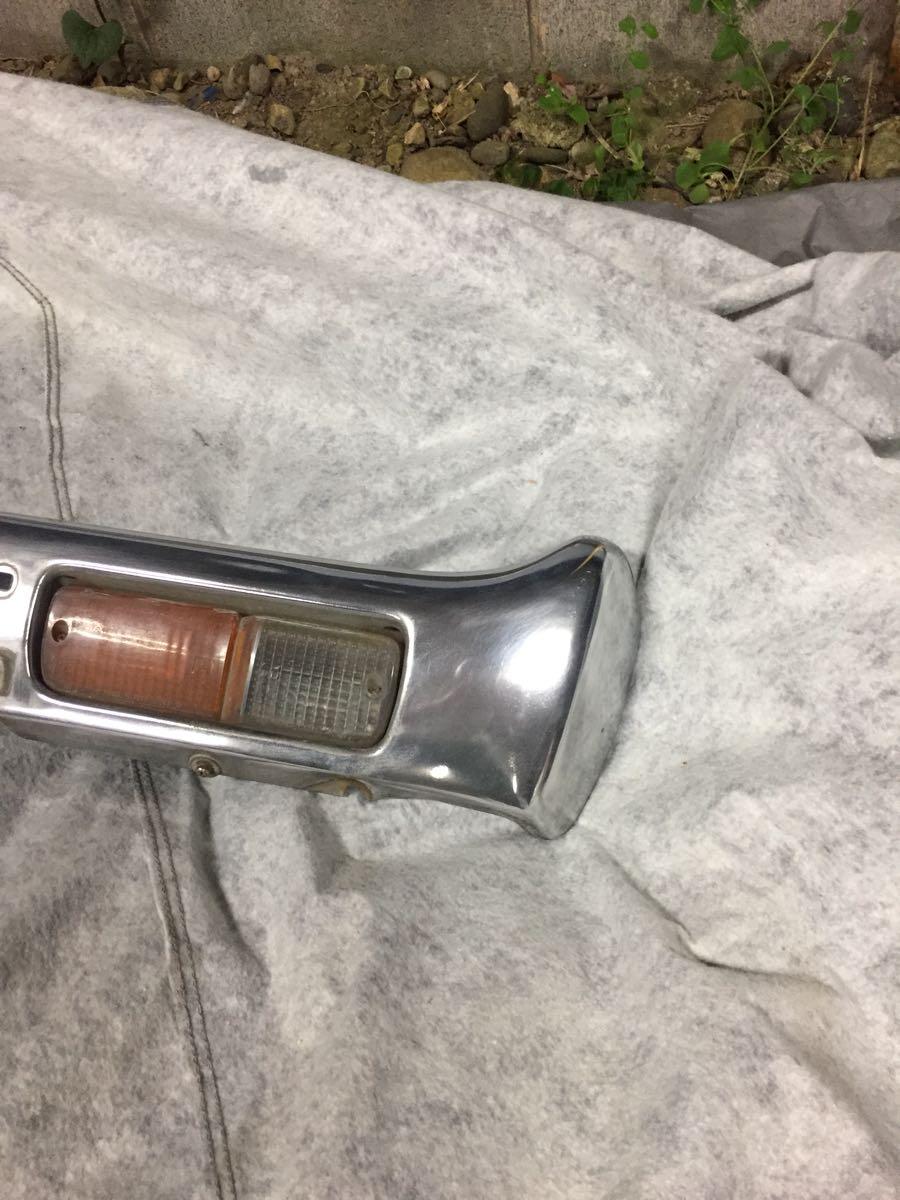 ケンメリ 純正 フロントバンパー kgc110 GC110 GC111 外装 フロント バンパー ライト ウインカー_画像3