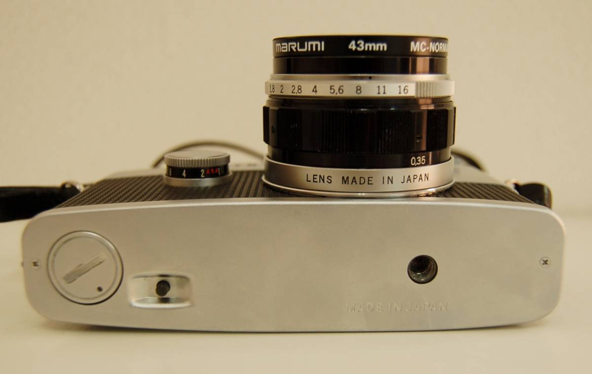 OLYMPUS オリンパス PEN-FT ペン ボディ F.Zuiko Auto-S 1:1.8 f=38mm レンズ 1円から_画像4