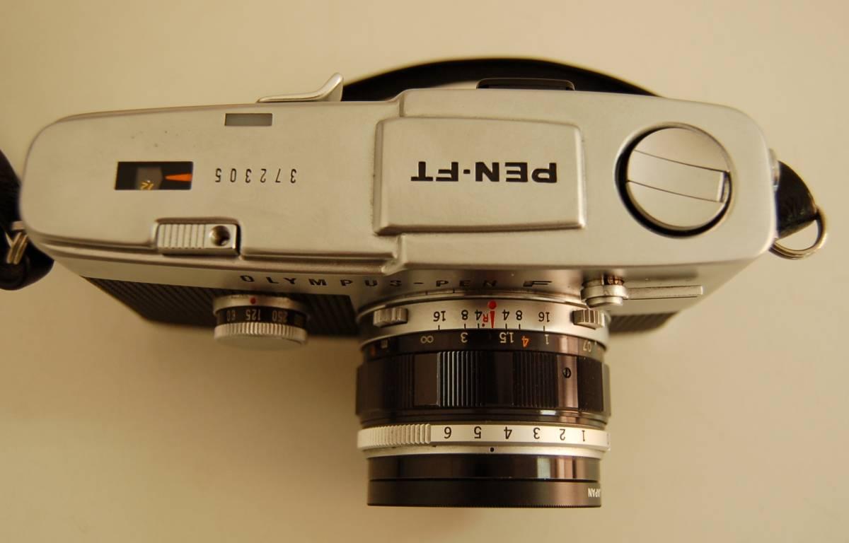 OLYMPUS オリンパス PEN-FT ペン ボディ F.Zuiko Auto-S 1:1.8 f=38mm レンズ 1円から_画像3