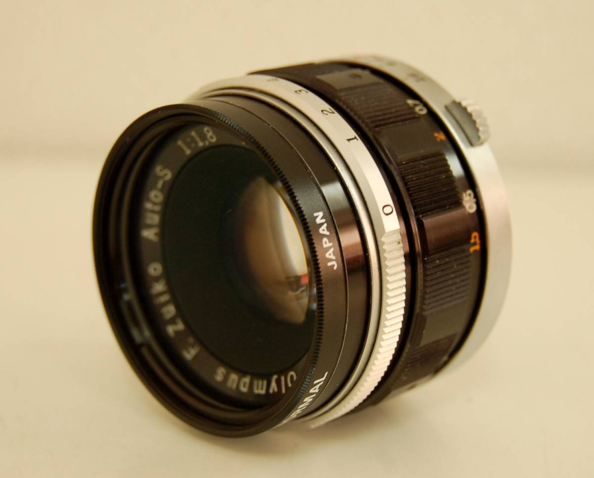 OLYMPUS オリンパス PEN-FT ペン ボディ F.Zuiko Auto-S 1:1.8 f=38mm レンズ 1円から_画像2