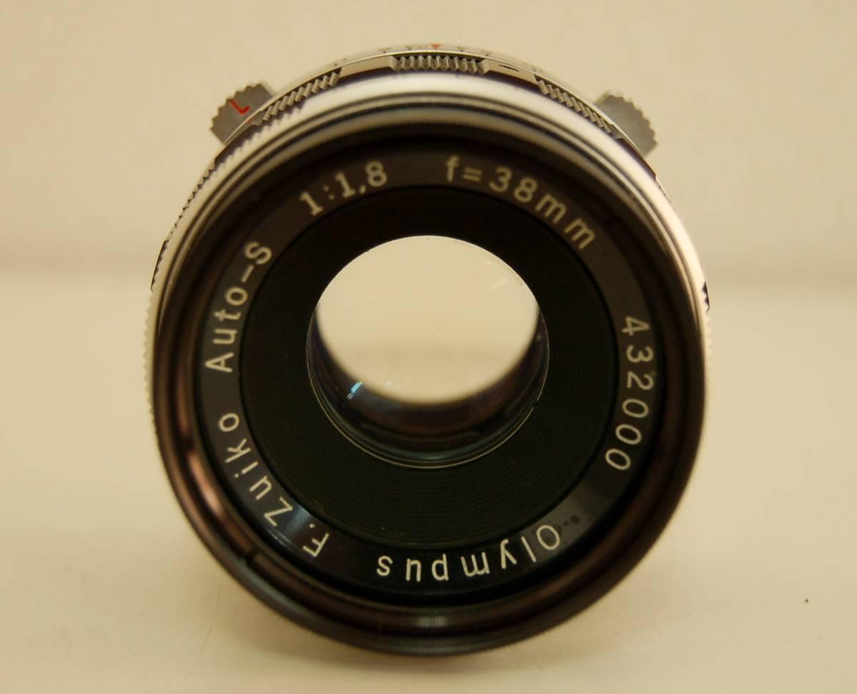 OLYMPUS オリンパス PEN-FT ペン ボディ F.Zuiko Auto-S 1:1.8 f=38mm レンズ 1円から_画像8