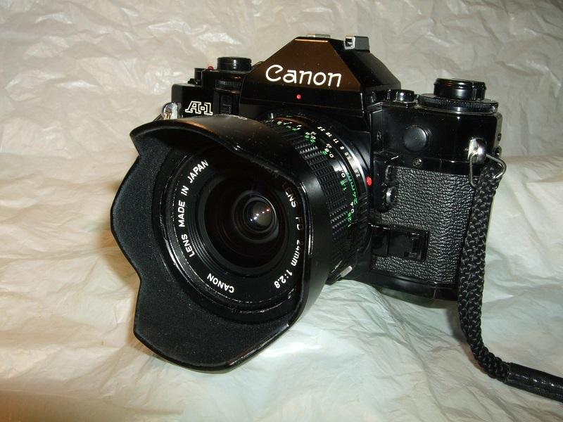 CANON A-1 CANON LENS FD 24mm、 FD 35mm、FD 50mm、FD 200mm 、他 _画像2