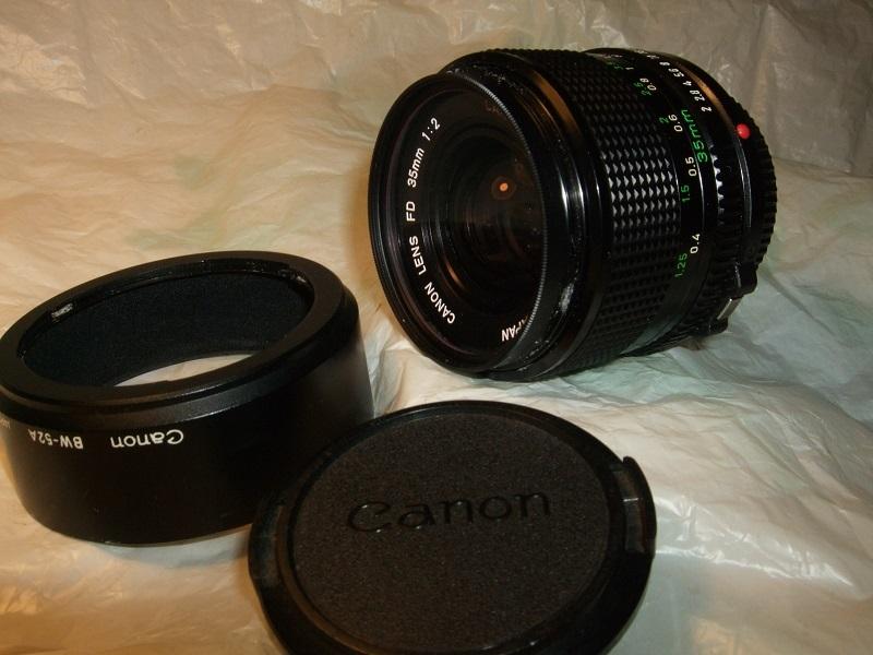 CANON A-1 CANON LENS FD 24mm、 FD 35mm、FD 50mm、FD 200mm 、他 _画像3