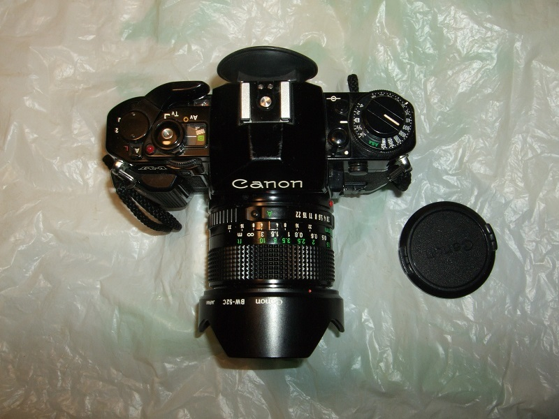CANON A-1 CANON LENS FD 24mm、 FD 35mm、FD 50mm、FD 200mm 、他 _画像8